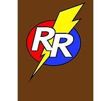 Rescue Rangers Logo Photographic Print