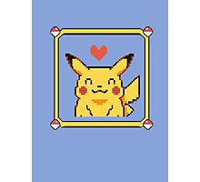 Happy Pikachu Photographic Print