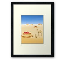 Desserts in the Desert Framed Print