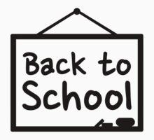 Back to School Blackboard by Designzz