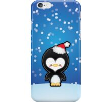 Cute Kawaii Christmas Penguin iPhone Case/Skin