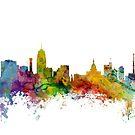 Lansing Michigan Skyline by Michael Tompsett