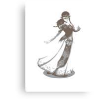 Minimalist Zelda from Super Smash Bros. Brawl Canvas Print