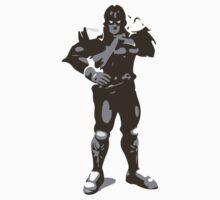 Minimalist Captain Falcon from Super Smash Bros. Brawl by Himehimine