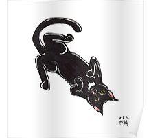Lucky Kitty Poster