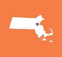 Massachusetts Love by Maren Misner