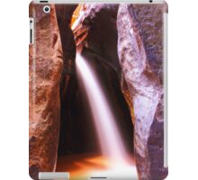Slot Canyon Waterfall, Zion National Park iPad Case/Skin