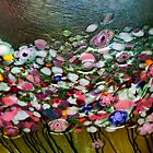 *Glass Waterlillies Abstract* by DeeZ (D L Honeycutt)