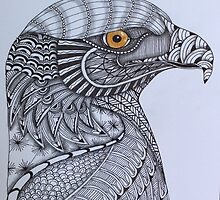 Tangled Eagle No. 3 by PennyRaeN