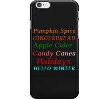 HELLO WINTER iPhone Case/Skin