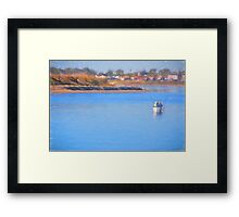 Fishing Buddies Framed Print