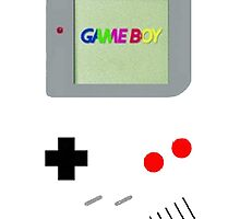 Gameboy Color! by WillowTheLlama