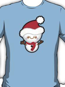 Cute Kawaii Christmas Snowman T-Shirt