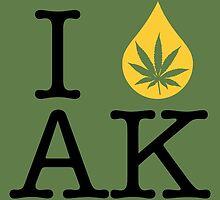 I Dab AK (Alaska) by LaCaDesigns