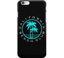 California beach club iPhone Case/Skin