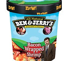Ben and Jerrys Bacon Wrapped Shrimp by MorganVeregge