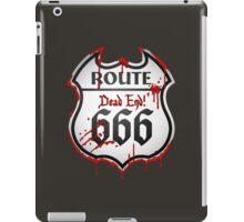 Route 666 iPad Case/Skin