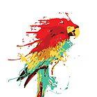 Splash The Parrot by Naked-Monkey