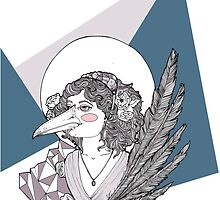 Magpie Lady by -migi-