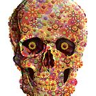 Floral Skull by Shane McGowan