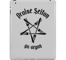 Praise Seitan 1.1 (black) iPad Case/Skin