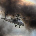 Apache HDR  - Dunsfold Wings and Wheels 2014 by Colin J Williams Photography