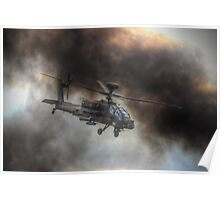 Apache HDR  - Dunsfold Wings and Wheels 2014 Poster