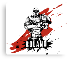 Roland Canvas Print