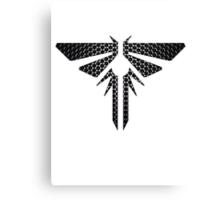 Metal Firefly Emblem Canvas Print