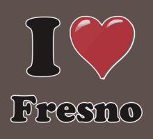 I Love Fresno Kids Clothes