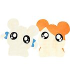 Hamtaro and Bijou by steffirae