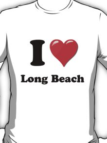 I Love Long Beach T-Shirt