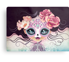 Camila Huesitos - Sugar Skull Metal Print