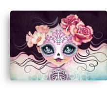 Camila Huesitos - Sugar Skull Canvas Print