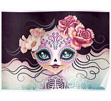 Camila Huesitos - Sugar Skull Poster