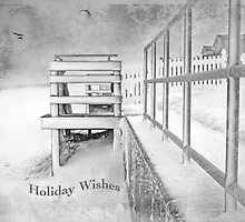 Holiday Wishes ~ Greeting Card by Susan Werby