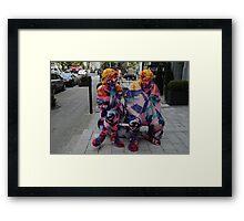 Comfy Knits Framed Print