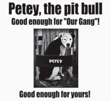 Petey the Pit Bull by Kristina Gale