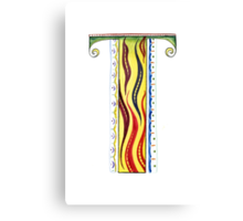 The Letter T Canvas Print