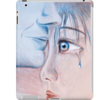 In mad rage I was blind - then you came and brought the light iPad Case/Skin