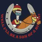 Roger the Jockey by LittleSister