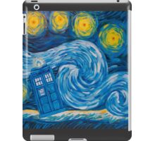 Starry Tardis Night iPad Case/Skin