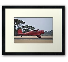 Beechcraft Staggerwing @ Point Cook Airshow, Australia 2014 Framed Print