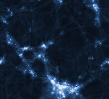 The Cosmic Web (Blue) by icrar