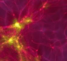 The Cosmic Web Sticker