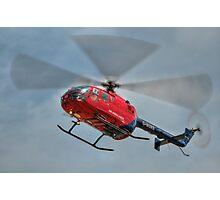 MBB BO-105 Air Ambulance  Photographic Print