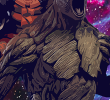 Groot and Rocket - Guardians of the Galaxy Sticker