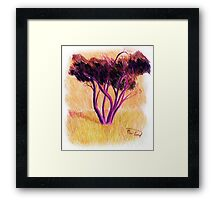 Drawing Day Tree Framed Print