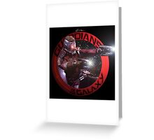 StarLord - Guardians of the Galaxy Greeting Card