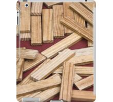 wooden toys for children iPad Case/Skin
